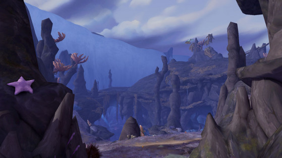 5. La Grève cendrée, au Nord-Ouest - World of Warcraft