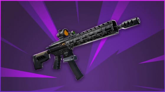 Fortnite : fusil d'assaut tactique, nouvelle arme