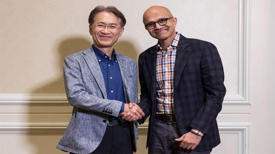 Microsoft et Sony s'associent au sujet du cloud et de l'IA