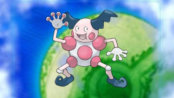 Pokemon Rumble Rush : boss M. Mime, counter