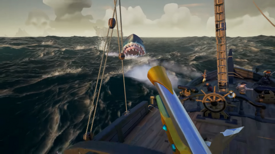 Sea of Thieves : le Mégalodon, Hungering Deep, Shrouded Spoils