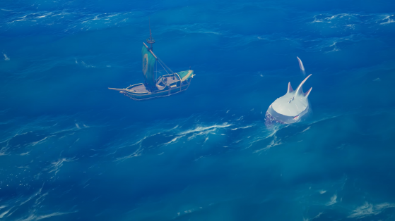 The Shrouded Ghost - Sea of thieves