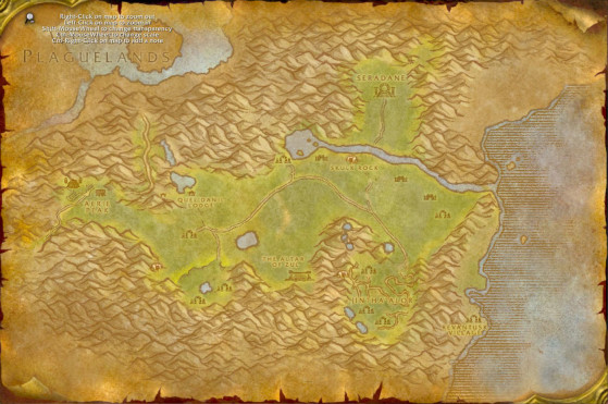 Les Hinterlands - WoW : Classic