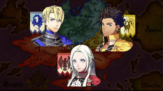 Fire Emblem Three houses : Factions, maisons, empires, pays, choix, Switch