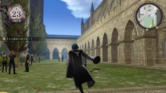 L'exploration en 3D. - Fire Emblem Three Houses