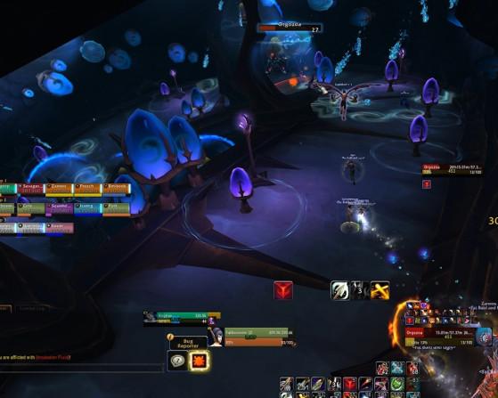 La descente dans la Chambre naga illustrée - World of Warcraft