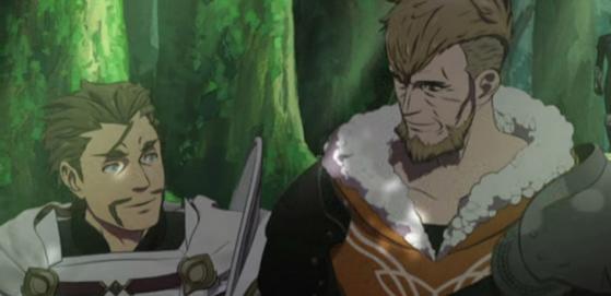 Alois, aperçu dans le premier trailer du jeu. - Fire Emblem Three Houses