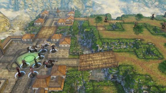 Flayn se trouve à gauche, avec une tenue qui semble être celle de Mage. - Fire Emblem Three Houses