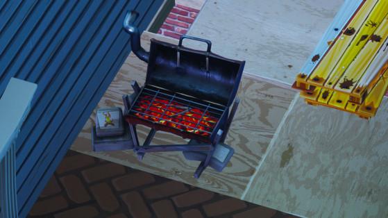 Fortnite : détruire des grils avec la pioche Spatule et fourchette
