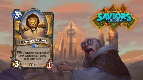 Hearthstone Aventuriers d'Uldum : Fierté de Salhet (Salhet's Pride)