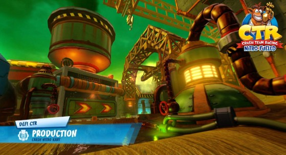 Défi lettres CTR - Production : guide Crash Team Racing Nitro-Fueled