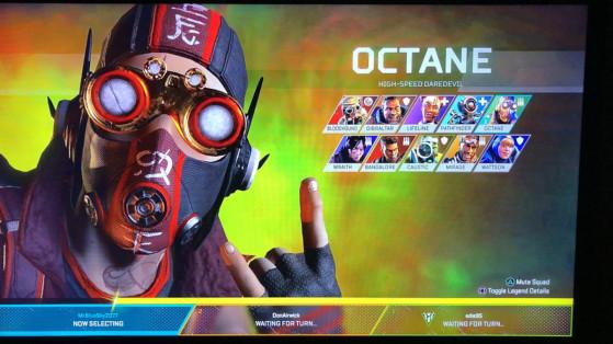 Apex Legends : Leak nouveau skin Octane, Twitch Prime, skins exclusifs