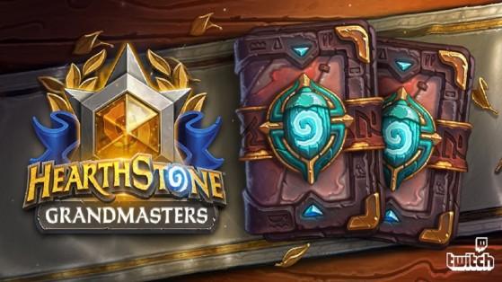 Hearthstone : Twitch Drops Saison 2 Grandmasters boosters Aventuriers Uldum