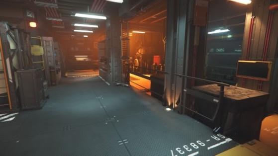 Intérieur de bunker - Star Citizen