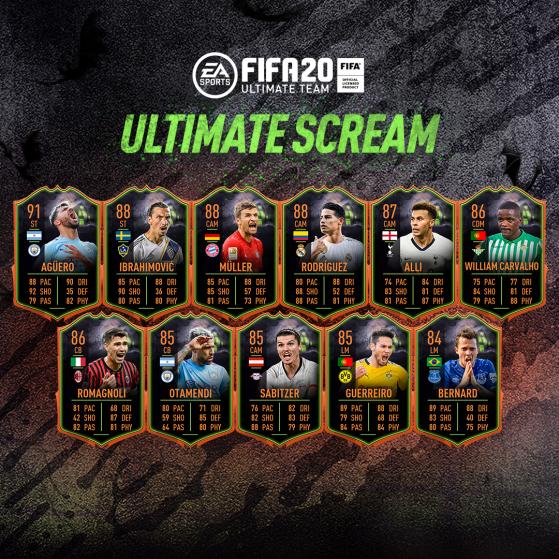 L'équipe était disponible dans les packs jusqu'au 25 octobre. - FIFA