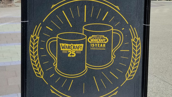 BlizzCon 2019 : Des mugs collector WoW et Warcraft offerts à l'Arena Plaza Beer Garden