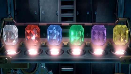 Gemmes Luigi's Mansion 3, soluce : étage B1, sous-sol