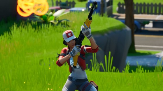 Fortnite : nerf et buff des armes et du spas, patch 11.10