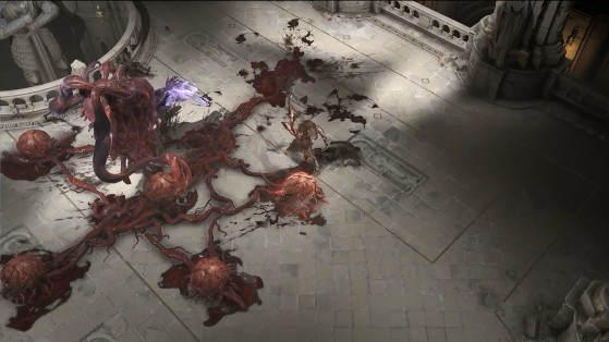 Le boss Archevêque du sang. - Diablo IV