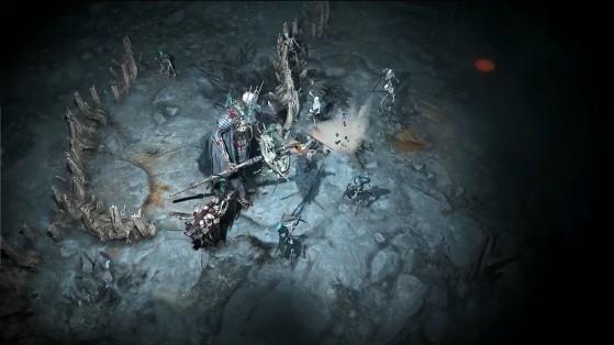 Un boss maître des morts. - Diablo IV