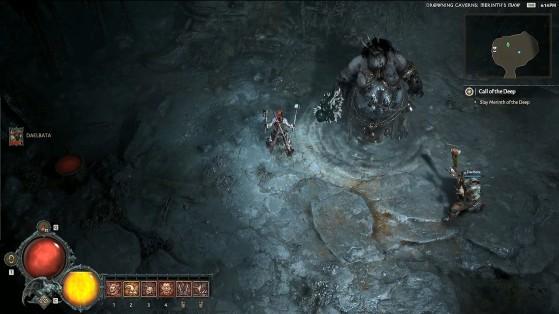 Boss Sorcière des mers. - Diablo IV