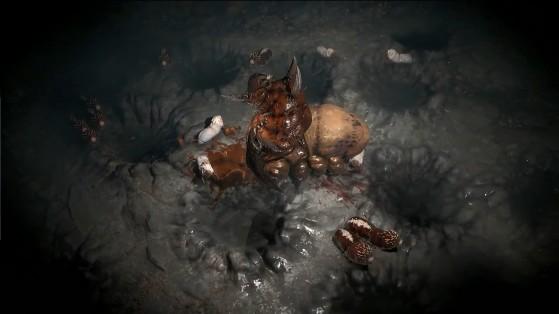 Duriel et ses asticots - Diablo IV