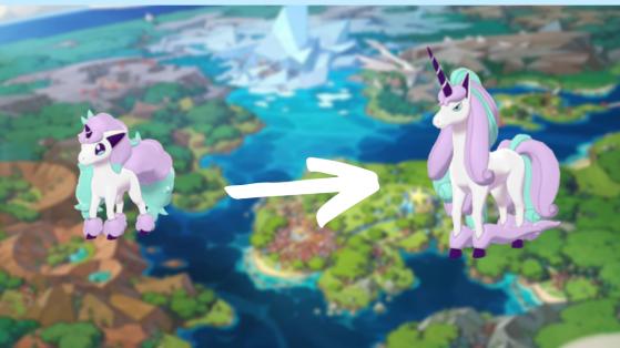 Pokemon Epee, Pokemon Bouclier : comment trouver et faire évoluer Ponyta de Galar ?