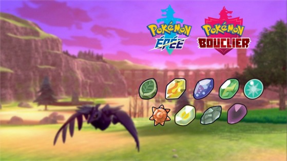 Guide Pokemon Epee, Bouclier : comment obtenir des pierres évolutives ?