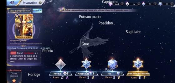 Type d'enigme - Saint Seiya Awakening