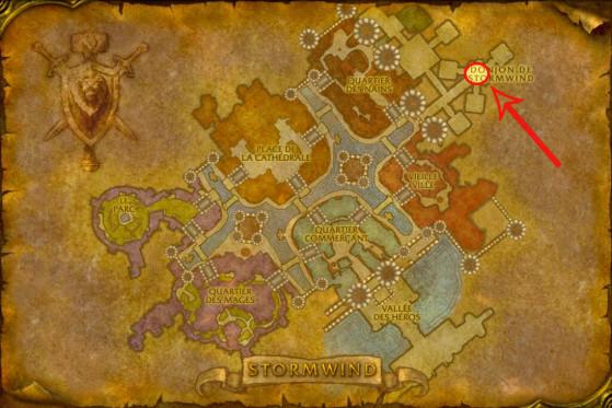Localisation d'Elfarran à Stormwind - WoW : Classic