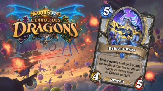 Hearthstone Envol des Dragons : nouveau serviteur rare Prêtre Brise-temps
