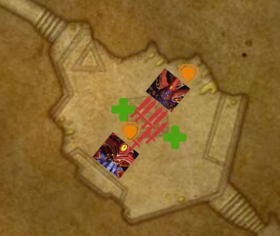 Placement lorsque Ka'zir contrôle la Conscience collective - World of Warcraft