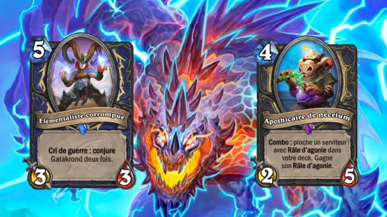 Hearthstone : idées nerf Envol des Dragons