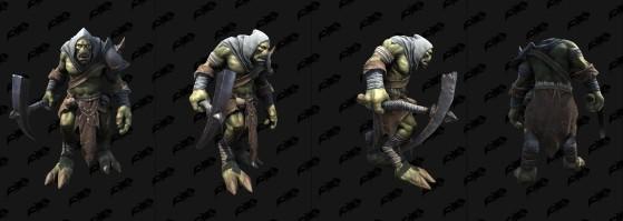 Un « Draenei » de Warcraft III: Frozen Throne (modèle de Warcraft III: Reforged) - World of Warcraft