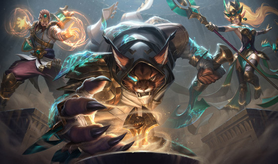 Les prochains skins Gardien des sables - League of Legends