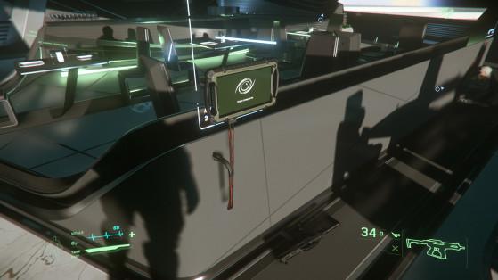 Terminal de transfert, en l'occurrence dans la salle de conférence - Star Citizen