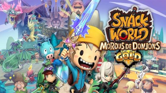 Test Snack World : Mordus de Donjons Gold sur Nintendo Switch