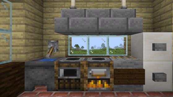 Minecraft : Fumoir, craft, utilité, recette