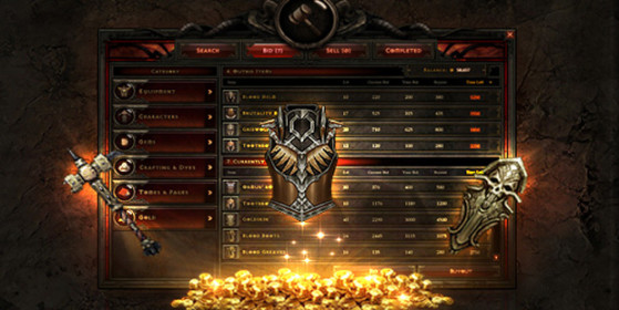 L'hôtel des ventes à argent réel de Diablo 3 - Diablo IV