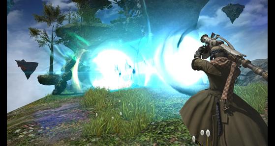 Perforateur éthéréen en action ! - Final Fantasy XIV