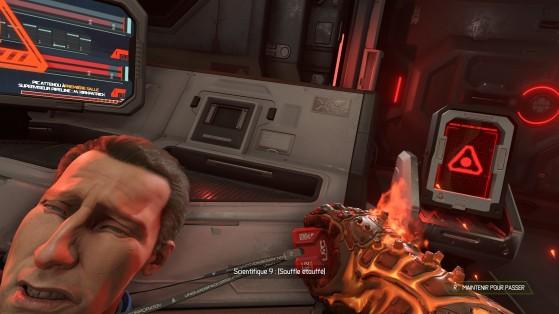 Une forme exotique de Glory Kill - Doom Eternal