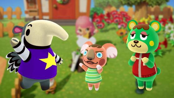 Animal Crossing New Horizons : tous les animaux disponibles au début du jeu