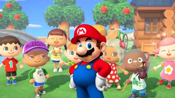 Animal Crossing New Horizons : easter-eggs et références Nintendo