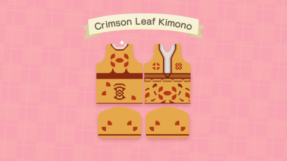 Conception de kimono dans Animal Crossing: New Horizons - Animal Crossing New Horizons
