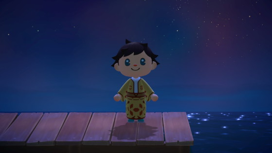 Aperçu d'un kimono en jeu - Animal Crossing New Horizons