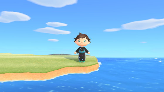 Aperçu du kimono dans Animal Crossing: New Horizons - Animal Crossing New Horizons