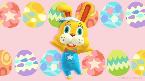 Animal Crossing New Horizons Paques : fete des œufs, Albin et meubles disponibles