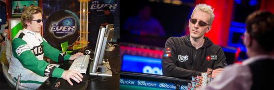 A gauche, ElkY en 2003 // A droite, ElkY en 2018 après sa reconversion en tant que joueur de poker professionnel. - Starcraft 2