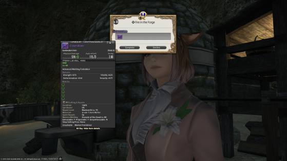 FFXIV 5.25 Arme Relique Récompense de quête - Final Fantasy XIV