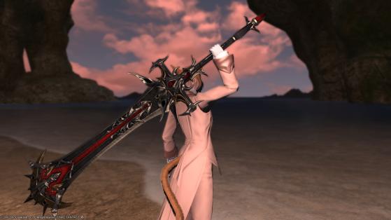 FFXIV 5.25 Arme Ultime 5.25 pour Chevalier Noir - Final Fantasy XIV